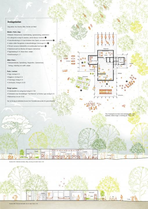 Park+ Hemlös_LAND_2015_plan och sektion