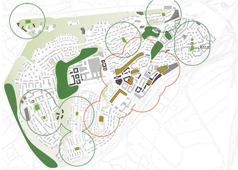 Telefonplan_Gångplan_parkstruktur_Land_Arkitektur