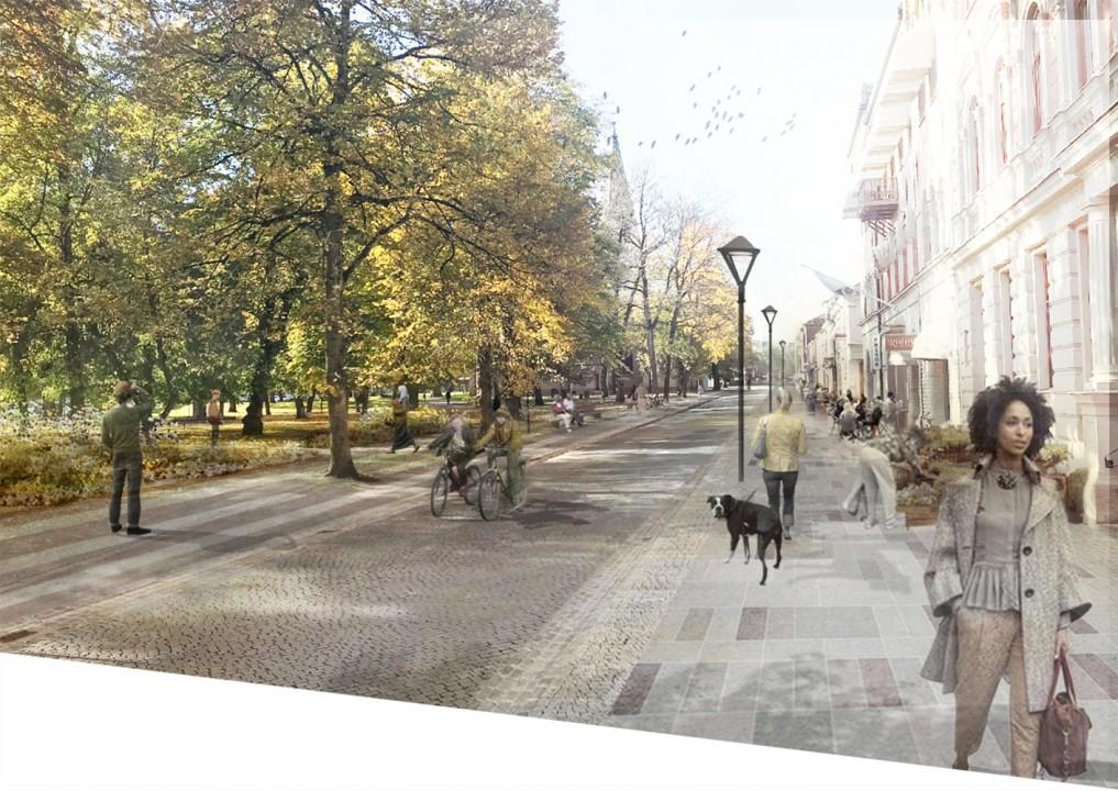 171113 Skövde gatan