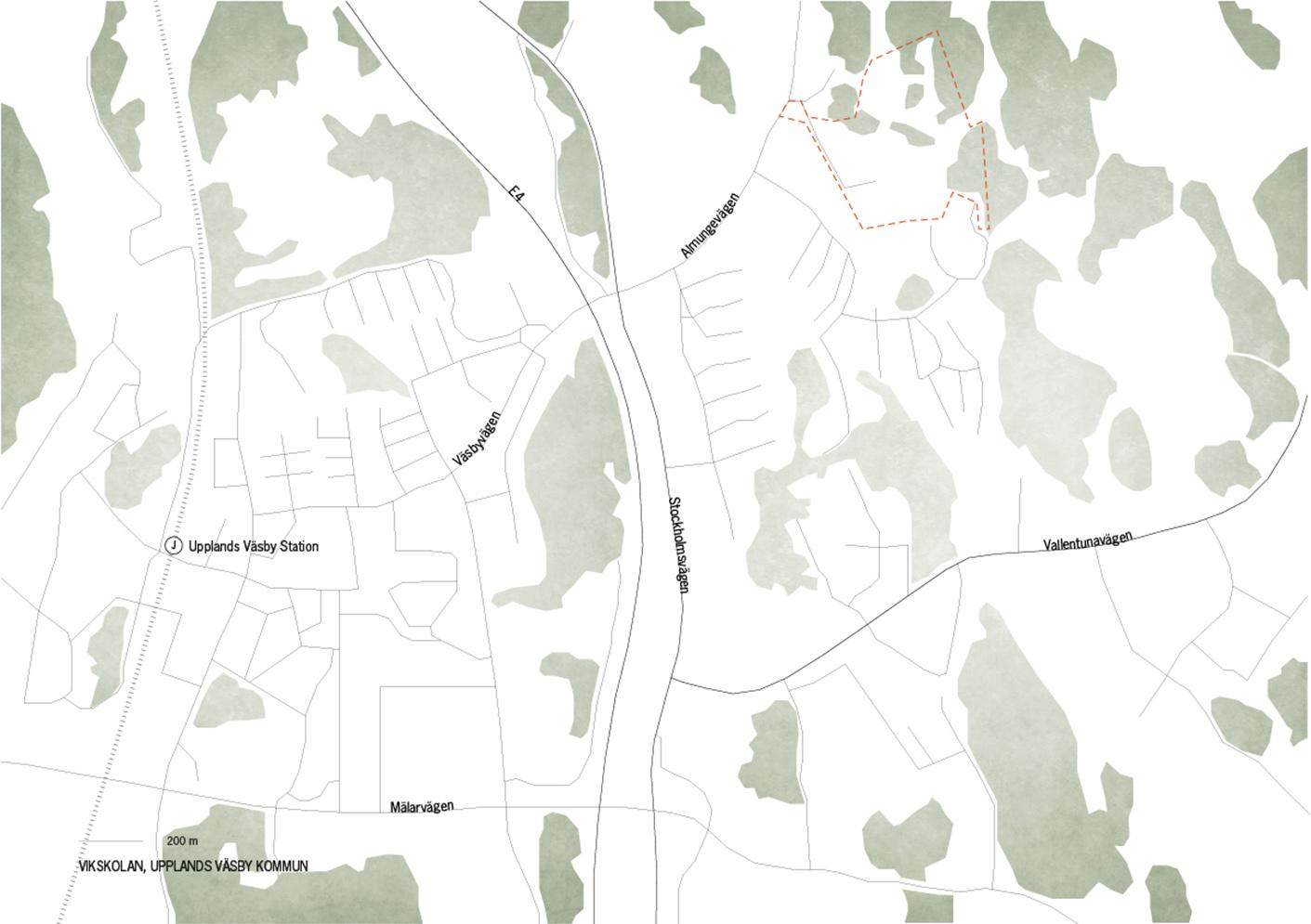 Vikskolan icon karta